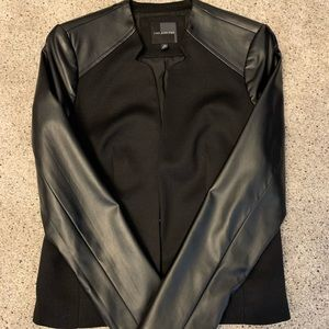 The Limited leather jacket size XS